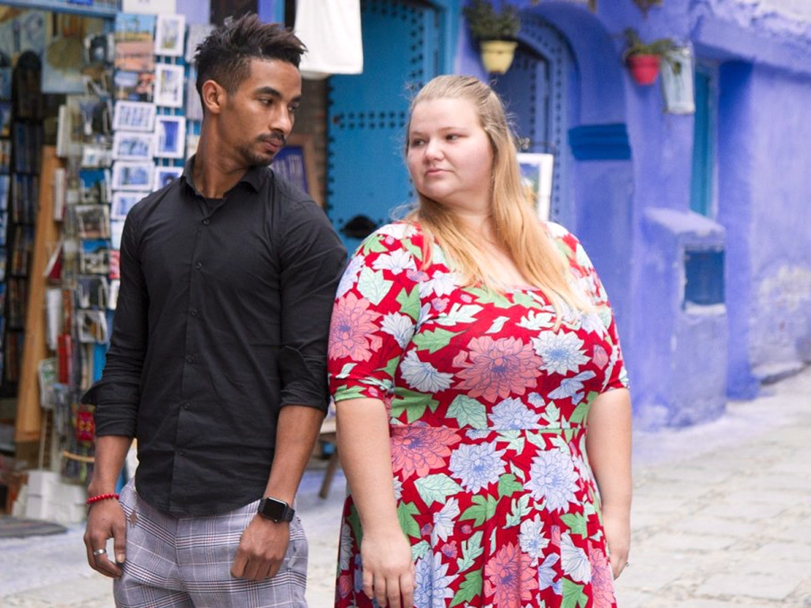 90 Day Fiance' star Nicole Nafziger squashes Azan Tefou split rumors